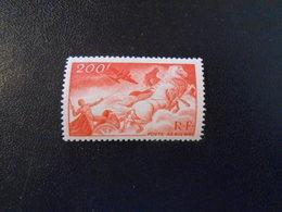 FRANCE  YT PA19 CHAR DU SOLEIL** - 1927-1959 Neufs