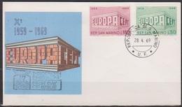 San Marino 1969 FDC Mi-Nr.925 - 926 Europa ( D 6732 )günstige Versandkosten - FDC
