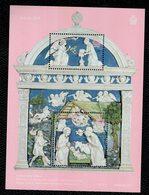 San Marino 2019 Natale Christmas Noel Weihnachten  2v In Foglietto Complete Set ** MNH - Unused Stamps