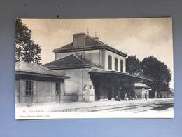 CARIGNAN-La Gare Vue De Laligne De Chemin De Fer - Otros Municipios