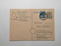 Deutsche Postkarte 1948 - [7] République Fédérale