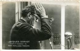 Jacques Doriot Chef Fondateur Parti Populaire Français - Personnages