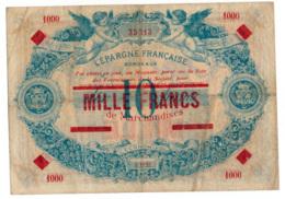 1953 // BON COMMERCIAL // BORDEAUX // L'EPARGNE FRANCAISE // 1 000 Francs Sur 10 Francs - Bonos
