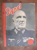 Revue Signal N° 20 Grande Guerre 1943 - Légion D Honneur à La Croix De Fer  ( Cliché Escadrons Cosaques De L Est - Guerre 1939-45