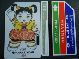 MYANMAR UESD CARDS COMICS - Myanmar