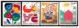 Japan 1994 - International Year Of The Family. Winning Entries In Stamp Design Contest - 1989-... Emperador Akihito (Era Heisei)