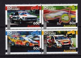 AUSTRALIE Australia 2012 Racing Bathurst 4 Val MNH ** - 2010-... Elizabeth II