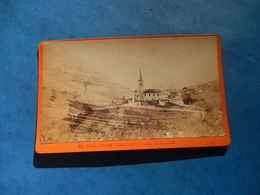 CDV PHOTO CARTE VISITE TROISTORRENTS VAL D'ILLIEZ 1876 SUISSE CHARNAUX ALBUMEN JA PHOTOGRAPHE Trois Rois - Photos