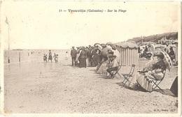 Dépt 14 - TROUVILLE-SUR-MER - Sur La Plage - (B. F., N° 14) - Trouville