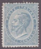 Regno, 15 Centesimi Celeste Chiaro DLR Londra Nuovo *   -CF02 - 1861-78 Victor Emmanuel II
