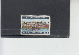 GUERNSEY  1969-70 - Unificato 18 - Guernesy - Guernesey