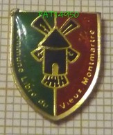 ASSOCIATION COMMUNE LIBRE DU VIEUX MONTMARTRE  PARIS MOULIN - Associations