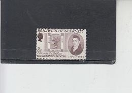 GUERNSEY  1971 - Unificato  49° - Francobollo Su Francobollo - Guernesey