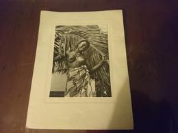 Carte De Vœux Femme Africaine - Ethniques, Cultures