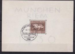 Deutsches Reich, Block 4, Gest. (K  5885c) - Deutschland