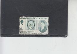 GUERNSEY  1971 - Unificato  51° - Francobollo Su Francobollo - Guernesey