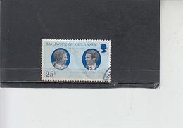 GUERNSEY  1973 - Unificato  83° Nozze Reali - Guernesey