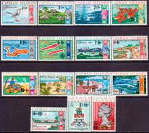 Cayman Islands 1969 SG #238-52 Compl.set Used Decimal Currency - Iles Caïmans