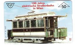 Austria - Österreich - 100 Jahre Elektrische Strassenbahn In Wien - Tram - Tramway - 700A - Zodiaco
