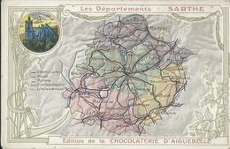 Contour Géographique      Sarthe - Altri Comuni