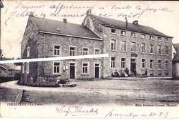 FERRIERES - La Poste - éd. Brisbois - Voyagé 1905  (266) - Ferrieres