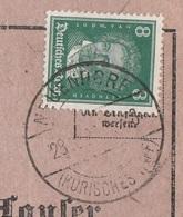 Ostpreussen Deutsches Reich Karte Mit Tagesstempel Neuendorf Kurisches Haff Kr Sameland RB Königsberg 1929 - Deutschland
