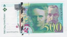500fr. Pierre Et Marie Curie 1994 Neuf - 1992-2000 Laatste Reeks