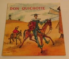 33T DON QUICHOTTE Interprété Par Claire MAURIER - Kinderlieder