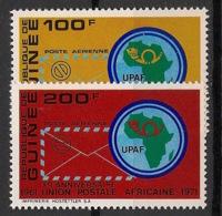 Guinée - 1972 - Poste Aérienne PA N°Yv. 103 à 104 - UPAF - Neuf Luxe ** / MNH / Postfrisch - Guinea (1958-...)