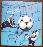 COUPE DU MONDE DE FOOTBALL 1998 - CM / FDC / BF Et Timbres Sur Document - France