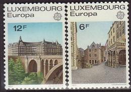 Luxemburgo  Tema Europa   Año  1977 - Luxembourg