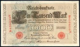 Deutsches Reich 21. April 1910, 1.000 Mark, P44-g - [ 2] 1871-1918 : German Empire