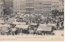 Antwerpen Groentenmarkt Op De Grote Markt  Met Foutje ??? - Antwerpen
