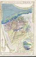 Contour Géographique   Oran - Cartes Postales