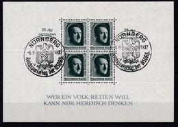 Deutsches Reich, Block 11, Gest. (K  5887b) - Deutschland