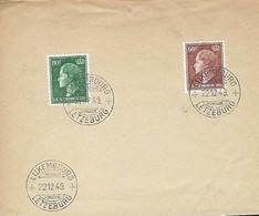 Luxembourg  -   FDC  -  22.12.1949  -  Grande-Duchesse Charlotte - FDC