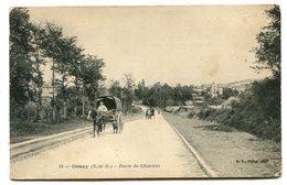 ORSAY Route De Chartres Charrette - Orsay
