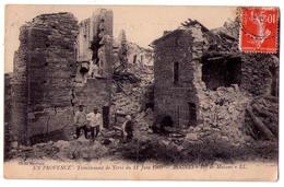 "6439 - Rognes ( 13 ) - Tremblement De Terre Du 11 Juin 1909 - L.L. - "" En Provence "" - Cl. Baudouin - - Francia"