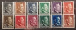 Pologne 1941-42 / Yvert N°82-93 / ** / Effigie D'Hitler - 1939-44: 2ème Guerre Mondiale