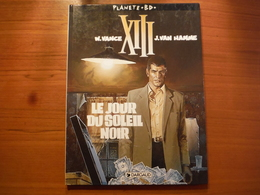 BD - XIII - Le Jour Du Soleil Noir 1 - Vance Et Van Hamme - Dargaud 1995 - XIII