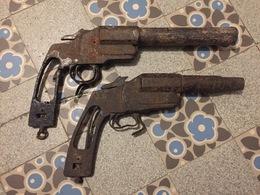 2 De Deux épaves De Lance Fusées Allemand Ww1 - 1914-18