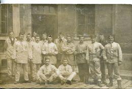 N°1369 T -carte Photo Du 5è Régiment D'infanterie-10è Compagnie -Paris- - Regiments