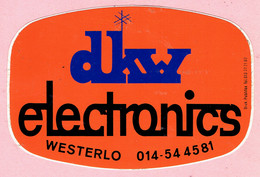 Sticker - Dkw Electronics - WESTERLO - Stickers