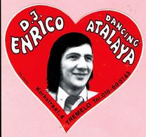 Sticker - DANCING - ATALAYA - Kerkstraat 4 TREMELO - D.J. ENRICO - Stickers