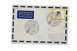 LAB754 - DDR GERMANIA ORIENTALE , Razzo Rocket Fusee Rakete Fdc 30/12/1963 - Storia Postale