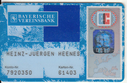 GERMANY - Bayerische Vereinsbank, Eurocheque, Used - Cartes De Crédit (expiration Min. 10 Ans)
