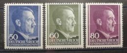Pologne 1943 / Yvert N°120-122 / ** / Effigie D'Hitler - 1939-44: 2ème Guerre Mondiale