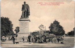 51 REIMS - Statue Du Maréchal Drouet-d'Erlon - Reims