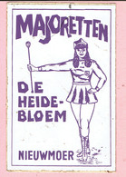 Sticker - MAJORETTEN - DE HEIDEBLOEM - Nieuwmoer - Stickers
