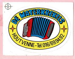 Sticker - DE WATERKREKELS - HOUTVENNE - Stickers